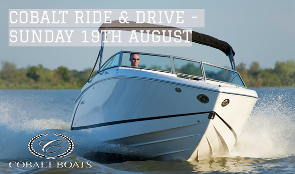 Cobalt Boats Ride & Drive - RMYC Port Hacking